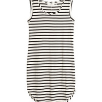 Sleeveless Jersey Dress - from H&M