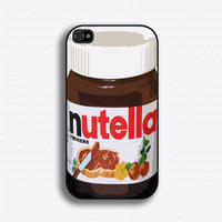 Nutella iPhone case for iphone 4 and 4S by iCaseSeraSera on Etsy