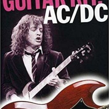 Angus Young & Brian Johnson & Omnibus Press-AC/DC Guitar Kit