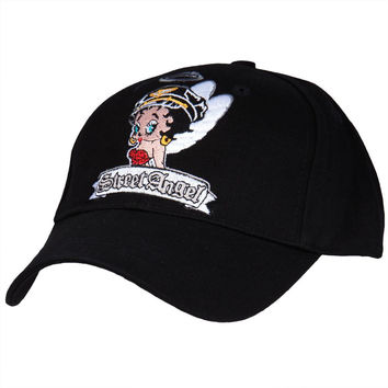 Betty Boop - Street Angel Adjustable Baseball Cap