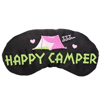 HAPPY CAMPER TENT SLEEP MASK