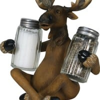 Salt & Pepper Shaker Set - Moose