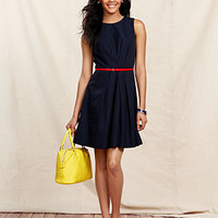 Tommy Hilfiger Dress, Sleeveless Belted A-Line - Dresses - Women - Macy's