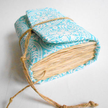 Sky Blue Ethnic Journal,Handmade Diary, Travel Book, Old Paper, Pregnancy journals, Notebooks,