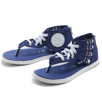 Converse Fashion Women Rivet Sandal Slipper Shoes