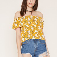 Floral Off-the-Shoulder Top | Forever 21 - 2000187092