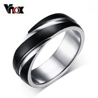 3 color wedding ring for men / women
