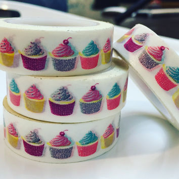 Frosted Cupcake Washi Tape