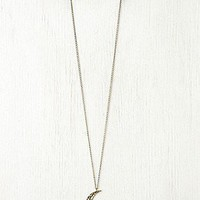 Moon Crescent Necklace at Free People Clothing Boutique