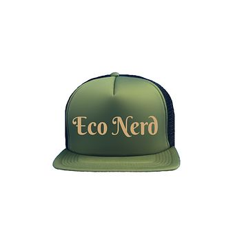 Eco Nerd Trucker Hat
