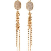 Brooke Gregson - Waterfall 18-karat gold diamond earrings