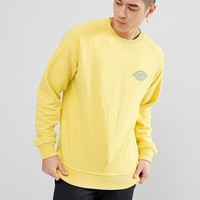 Dickies Briggsville Sweatshirt With Small Reflective Logo In Yellow at asos.com