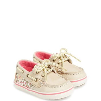 Sperry Top-Sider Kids 'Bluefish' Crib Shoe (Baby)
