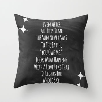 Light the Sky.  Throw Pillow by Jeans and Tees and Travel and Cakes