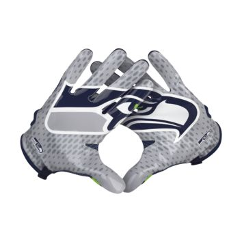 Nike Vapor Knit (NFL Seahawks) Men's Football Gloves