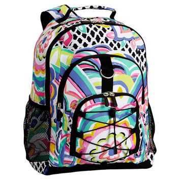 Gear-Up Multi Floral Backpack