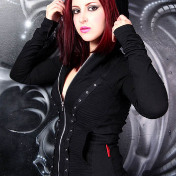 Tripp Marilyn Hoodie :: VampireFreaks Store :: Gothic Clothing, Cyber-goth, punk, metal, alternative, rave, freak fashions