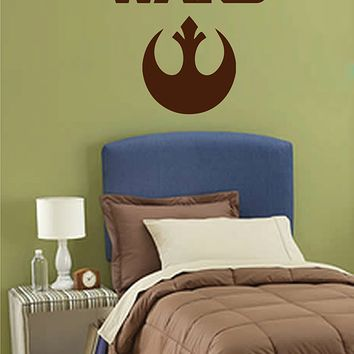 ik2723 Wall Decal Sticker STAR WARS Rebel Alliance Living children's room