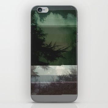 Nature Matrix iPhone & iPod Skin by Ducky B