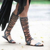 FP Collection Womens Bellflower Gladiator Sandals