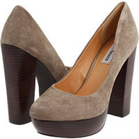 Steve Madden P-Desii Taupe Leather - 6pm.com
