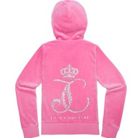 ORNATE MONOGRAM VELOUR JACKET