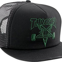 Thrasher Skategoat Mesh Cap Adjustable [Black]