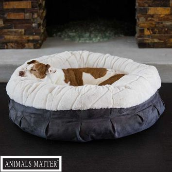 Pearl Puff Luxury Dog Bed