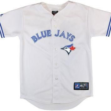 MLB Toronto Blue Jays Replica Jersey, White, Medium
