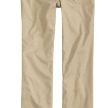 Justice Girl's Simply Low Straight School Uniform Pants Size 18 NWT