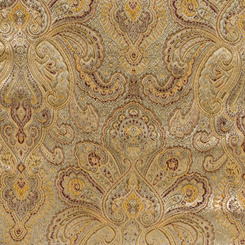 Brocade Fabric-Sage-Gold Tapestry at Joann.com