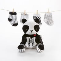 Panda Paws Plush Plus Socks for Baby