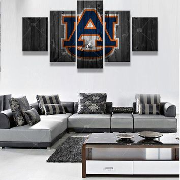 UA University of Auburn College Football Wall Art Picture Modern Home Canvas Print