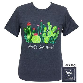 Girlie Girl Originals Lulu Mac What's Your Point Cactus T-Shirt