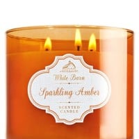 3-Wick Candle Sparkling Amber