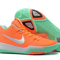 Nike Kyrie Irving 3 Orange/Green Basketball shoe