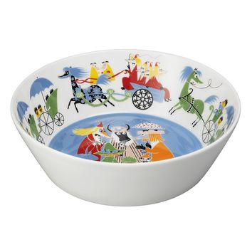 Moomin Friendship serving bowl 23 cm by Arabia