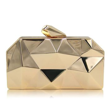 Hot Sale European Style Fashion Women Acrylic Handbags Ladies Wedding Party Day Clutch Hasp Candy-colored Evening Bags