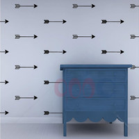 Cartoon Arrow Wall Stickers Wall Decals, Removable Child Room decoration