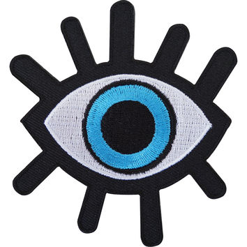 "Evil Seeing Eye Illuminati Embroider Big Back Patch 9""/23cm"