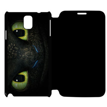 Toothless How To Train Your Dragon Samsung Galaxy Note 4 Flip Case Cover