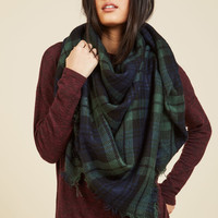 Willamette for the Weekend Scarf in Forest | Mod Retro Vintage Scarves | ModCloth.com