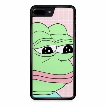 Aesthetic Pepe Frog iPhone 8 Plus Case