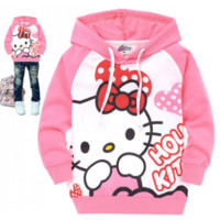 Kids Hooded Caton
