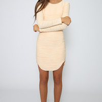 Tinashe Dress - Peach