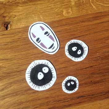 Spirited Away stickers