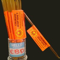 Colorado Hemp Honey Stick Mandarin Orange