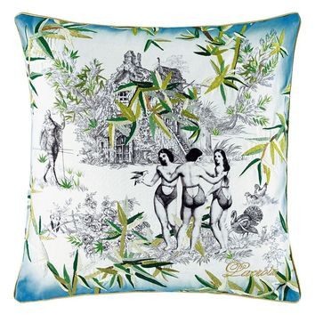 Christian Lacroix Exotisme Opale Cushion