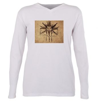 BOHO SOLEIL PLUS SIZE LONG SLEEVE TEE