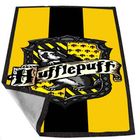 Hufflepuff Hogwart Harry Potter cddb6ca9-f76b-4c98-8d04-933e05465e0b for Kids Blanket, Fleece Blanket Cute and Awesome Blanket for your bedding, Blanket fleece *02*